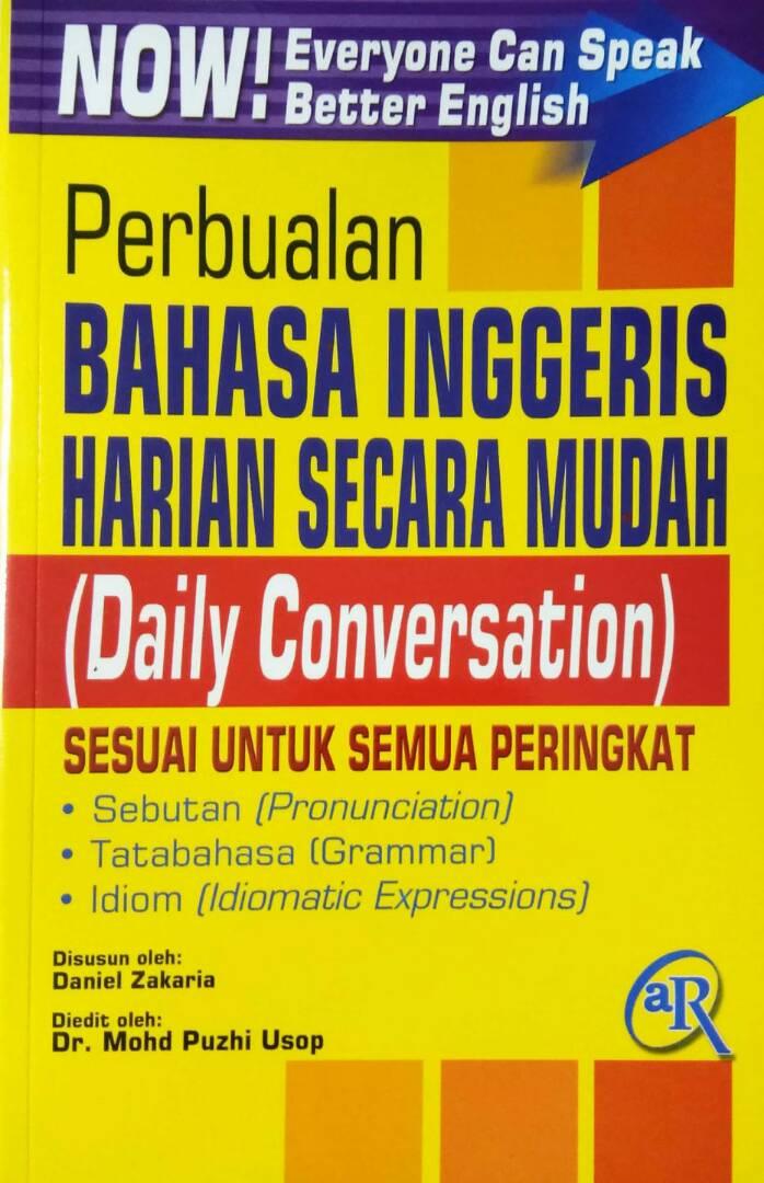 Perbualan Bahasa Inggeris Harian Secara Mudah