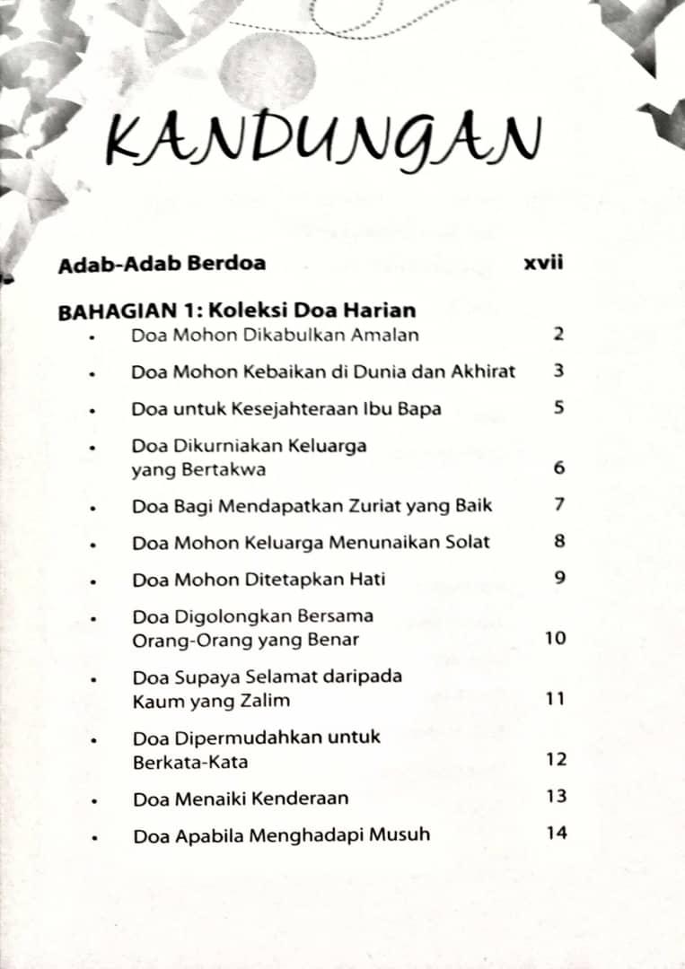 180 Koleksi Doa Mustajab M12
