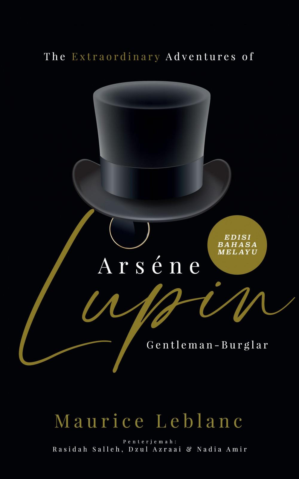 The Extraordinary Adventures of Arsène Lupin, Gentleman-Burglar - Edisi Bahasa Melayu (L190,BL189)