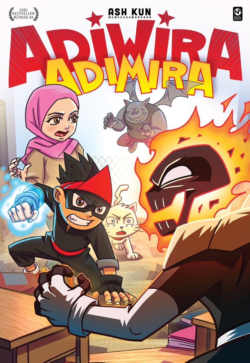 Komik-M: Adiwira #6: Adimira(M31,G19)
