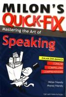 Milon's Quick-fix: Mastering The Art Of Speaking