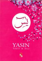 Yasin Tahlil & Doa - Pink