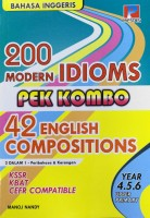 Pek Combo 200 Modern Idioms & 42 English Compositions Year 4,5 & 6 #