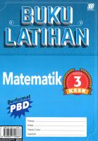 Buku Latihan Matematik Tahun 3