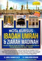 Nota Kursus Ibadah Umrah & Ziarah Madinah