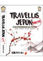 Travellis Jepun - Tokyo  #