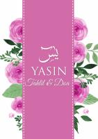 Yasin, Tahlil & Doa - Pink