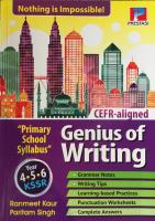 Genius Of Writting Year 4,5, & 6 #