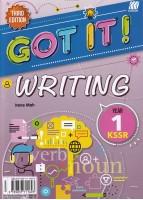 Got It! Writing Kssr Year 1 Third Edition 2020