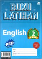Buku Latihan English Year 2