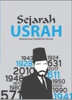 Sejarah Usrah #