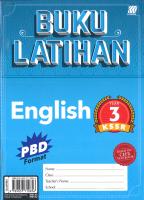 Buku Latihan English Year 3