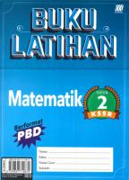 Buku Latihan Matematik Tahun 2