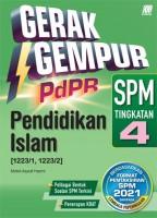 Gerak Gempur Pdpr Pendidikan Islam Spm Tingkatan 4