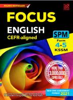 Focus Spm 2021 English