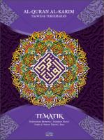 Al-quran Al-karim Tajwid & Terjemahan Tematik Dengan Panduan Warna Bertema