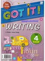 Got It! Writing Kssr Year 4 Third Edition 2020
