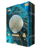 Al-Quran Multazam Perjuzuk (Waqaf Ibtida') - Biru Gelap(L223)