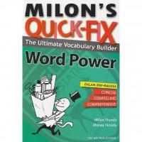 Milon's Quick-fix: The Ultimate Vocabulary Builder Word Power