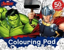 Marvel Avengers: Colouring Pad