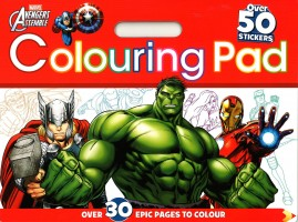 Marvel Colouring Pad