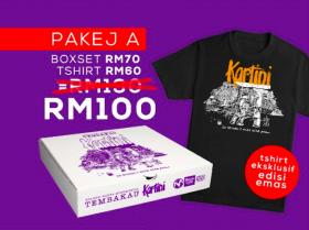 Pakej A: Boxset Kartini + T-shirt