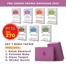 Pre Order : Set Promo Ramadan Tafsir Al Quran Tuan Guru Nik Abdul Aziz
