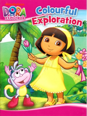 Dora The Explorer - Colourful Exploration