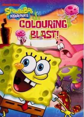 SpongeBob SQUAREPANTS Colouring Blast!