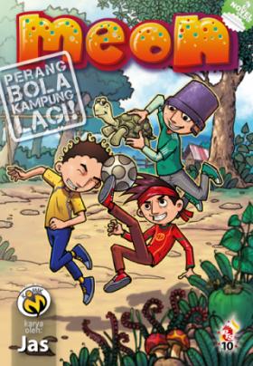 Komik-M: Meon #3 (Perang Bola Kampung Lagi)