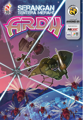 Komik-M: ARDH #3 (Serangan Tentera Merah)