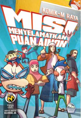 OP: Komik-M: Raya #3 (Misi Menyelamatkan Puan Ainon)