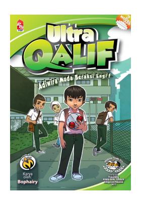 Komik-M: Ultra Qalif #2 (Adiwira Muda Beraksi Lagi!)