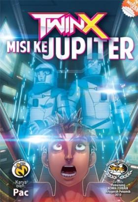 Komik-M: TwinX #4 (Misi ke Jupiter)